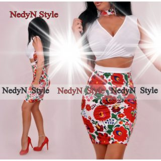 Dámske kvetované šaty (Dámske kvetované šaty )