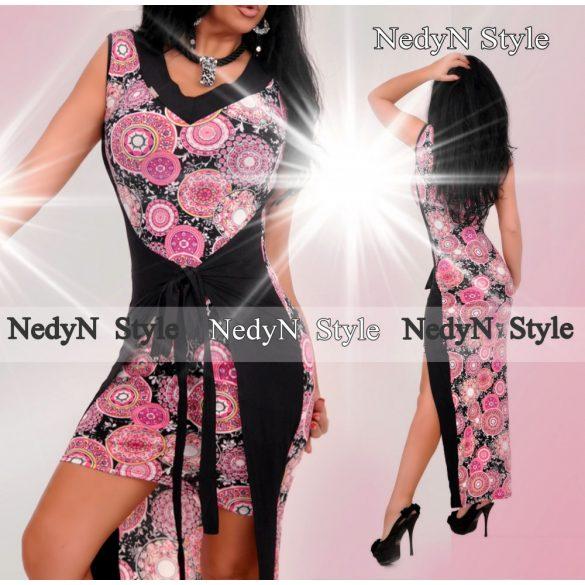 Dámske kvetované maxi šaty (Dámske kvetované maxi šaty )