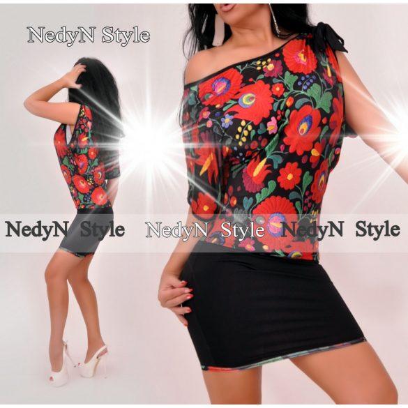 Dámske štýlové kvetované šaty (Dámske štýlové kvetované šaty)