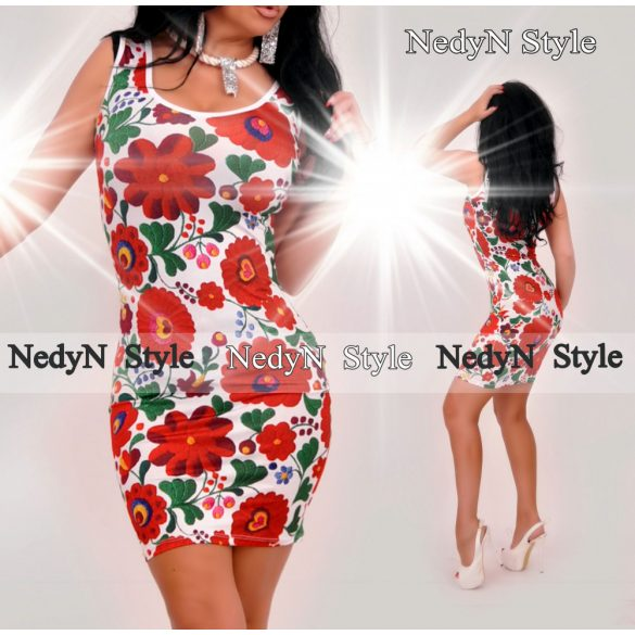 Kvetované šaty na ramienka (Kvetované šaty na ramienka)