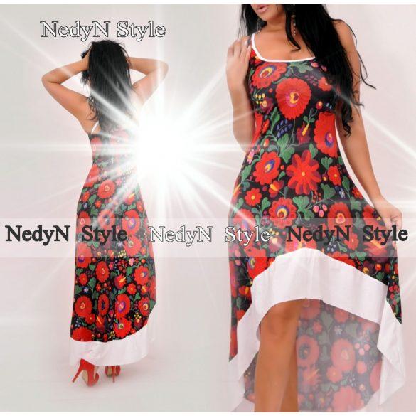 Dámske kvetované dlhé šaty (Dámske kvetované dlhé šaty )
