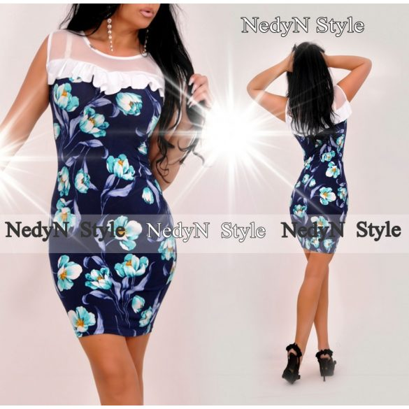 Krásne kvetované dámske šaty (Krásne kvetované dámske šaty )