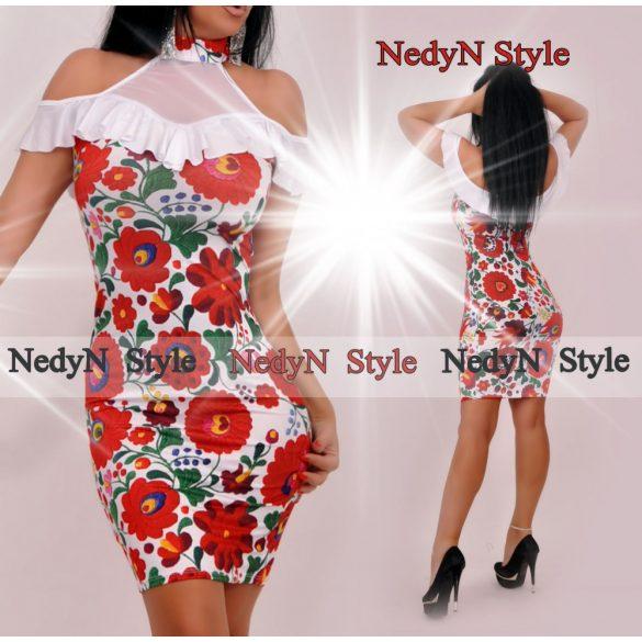 Dámske kvetované šaty (Dámske kvetované saty )
