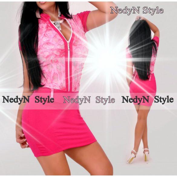 Dámske ružové šaty (Dámske ružové šaty )