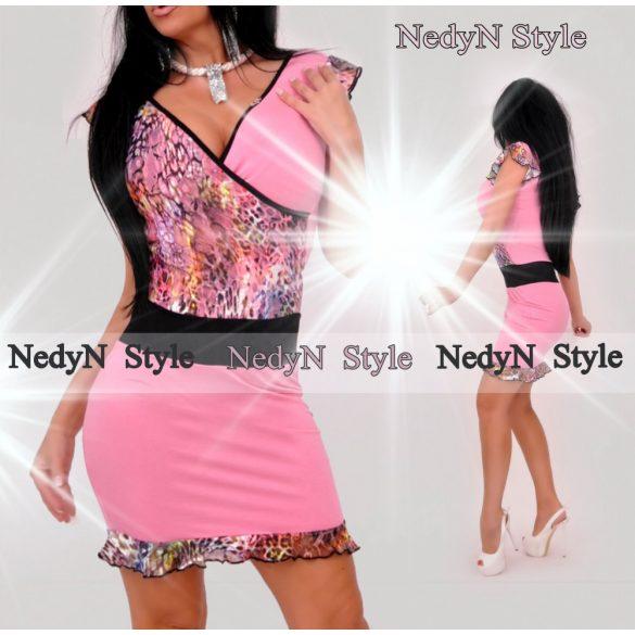 Krásne dámske šaty (Ružové krásne dámske šaty )