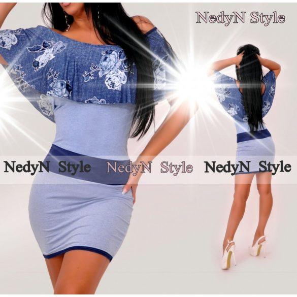 Krásne modré šaty (Krásne modré šaty na leto)