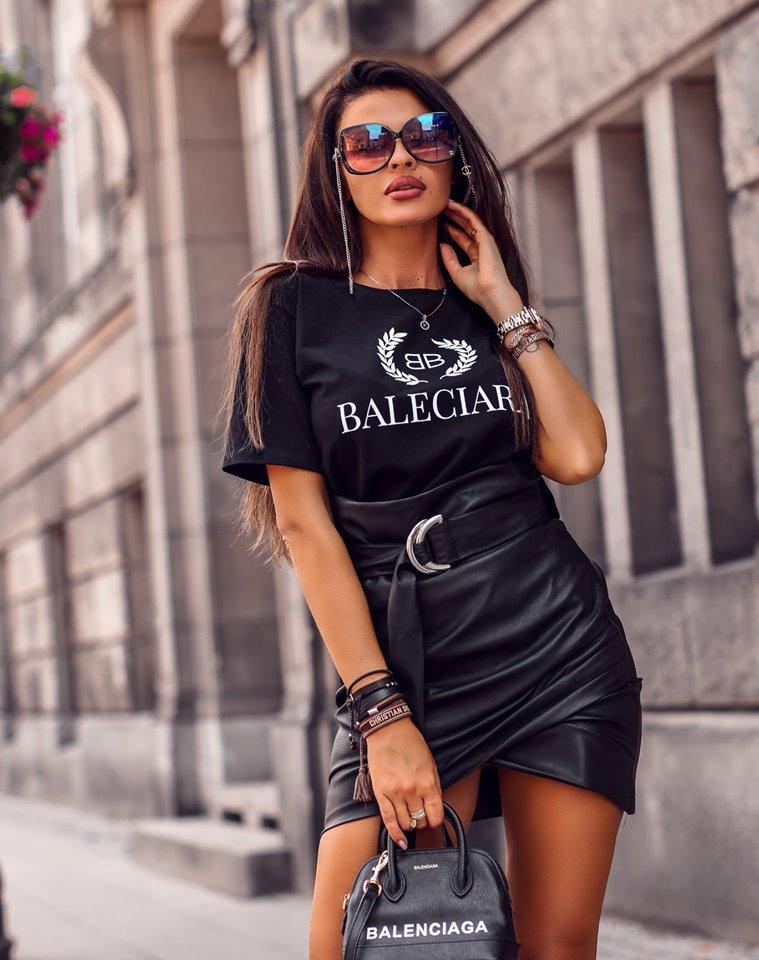Dámska sukňa s opaskom,čierna (Dámska sukňa s opaskom,čierna)