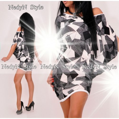 Dámske vzorované mini šaty (Dámske vzorované mini šaty)