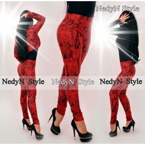 Vzorované dámske nohavice (Vzorované dámske nohavice)