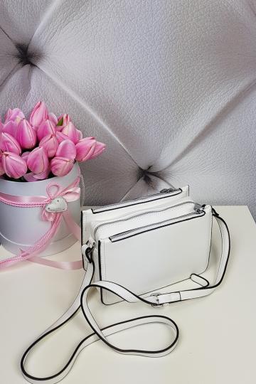 Dámska mala biela kabelka (Dámska mala biela kabelka)