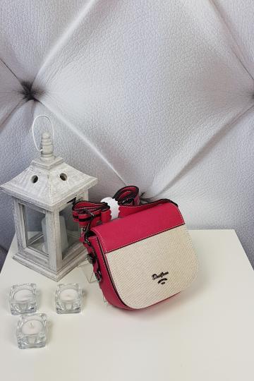 Dámska mala,ružovo bežová kabelka (Dámska mala,ružovo bežová kabelka)