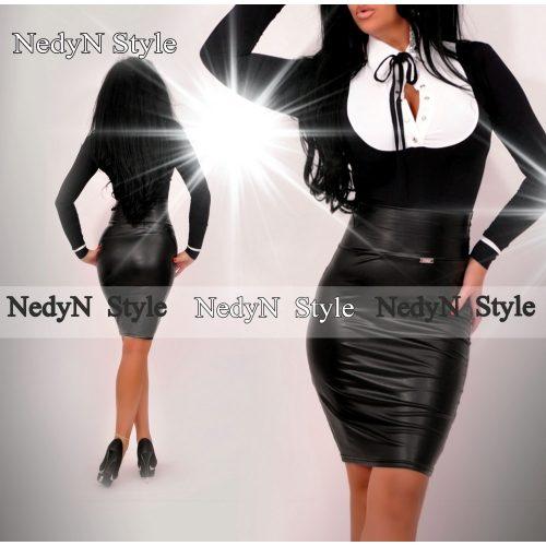 Elegantné dámske tričko,čierno biele (Elegantné dámske tričko,čierno biele)