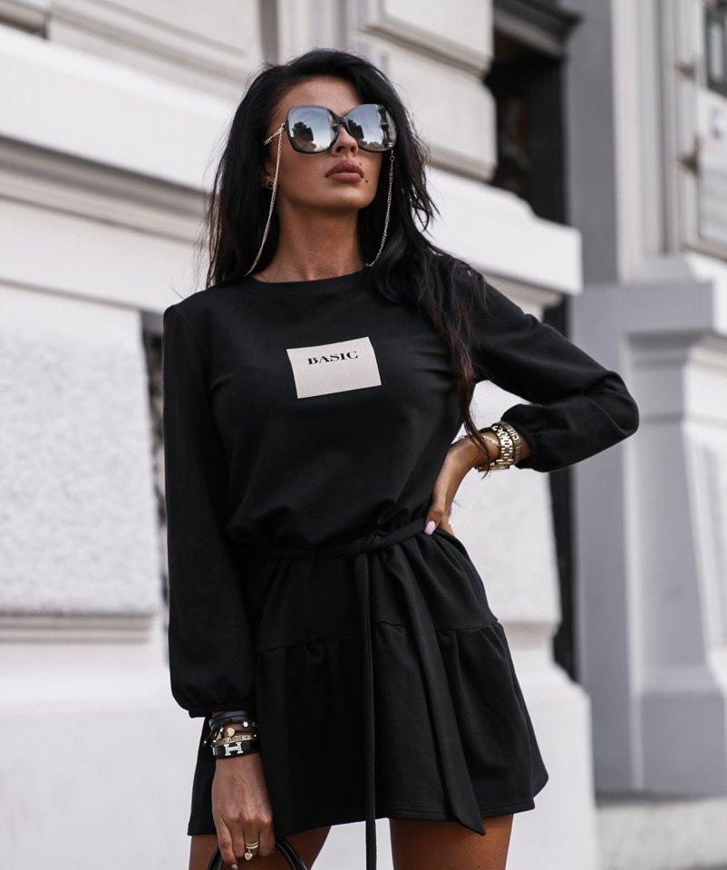 Dámske štýlové šaty,čierne (Dámske štýlové šaty,čierne)