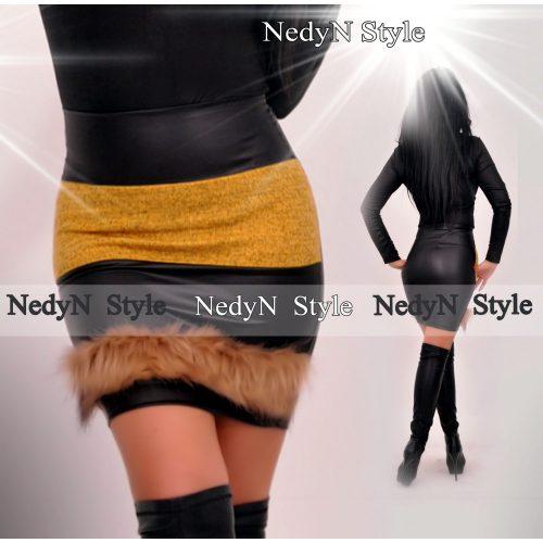 Dámska sukňa s kožušinkou (Dámska sukňa s kožušinkou)