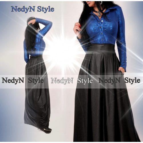 Dámska maxi sukňa,čierna (Dámska elegantná maxi sukňa,čierna)