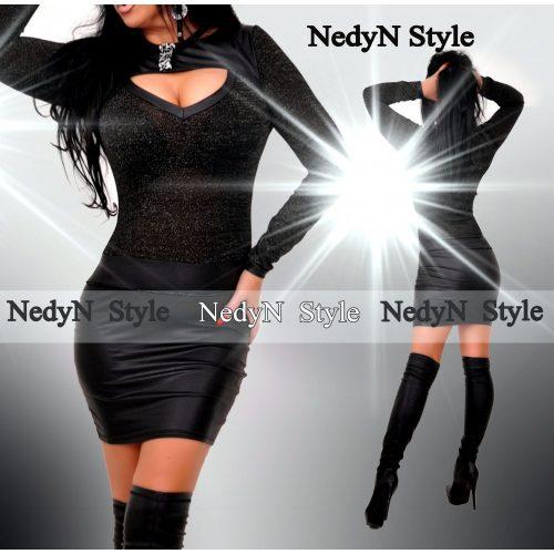 Dámske čierne elegantné šaty (Dámske čierne elegantné šaty )