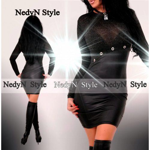 Dámske elegantné šaty s dlhým rukávom (Dámske elegantné šaty s dlhým rukávom)