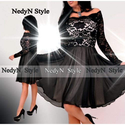 Dámske elegantné šaty s čipkou (Dámske elegantné šaty s čipkou)