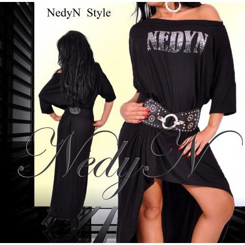 Dámske čierne šaty (Štýlové dámske šaty ,čierne)