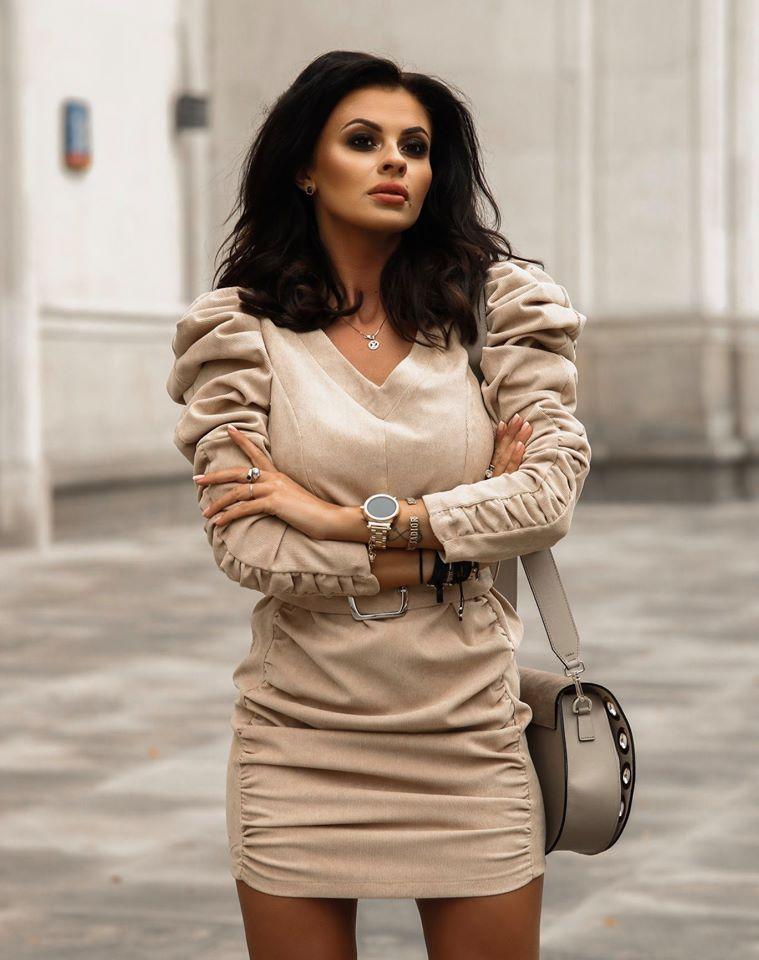 Dámske menčestrové šaty (Štýlové dámske menčestrové šaty)