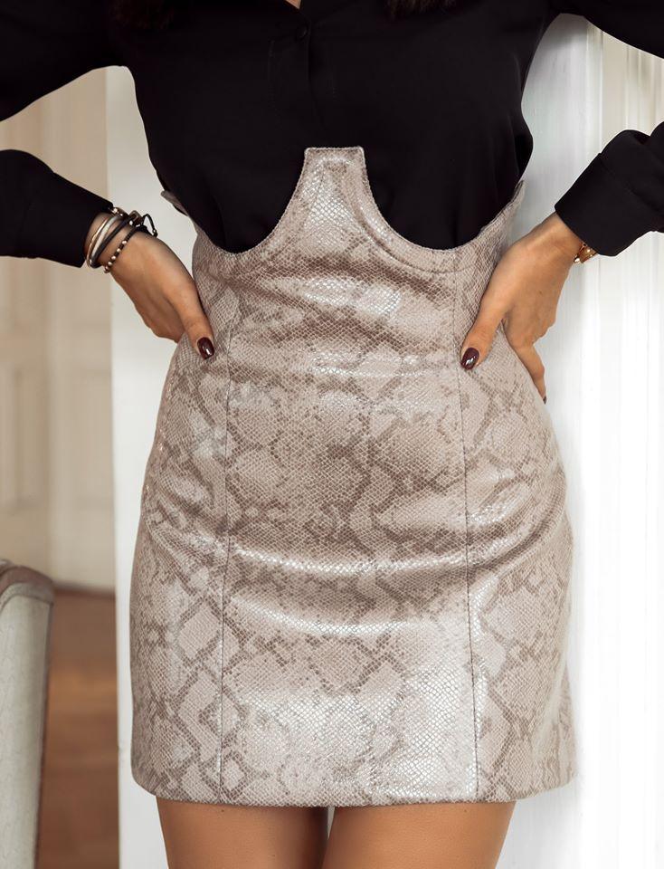 Dámska sukňa s vysoký pásom (Dámska sukňa s vysoký pásom)