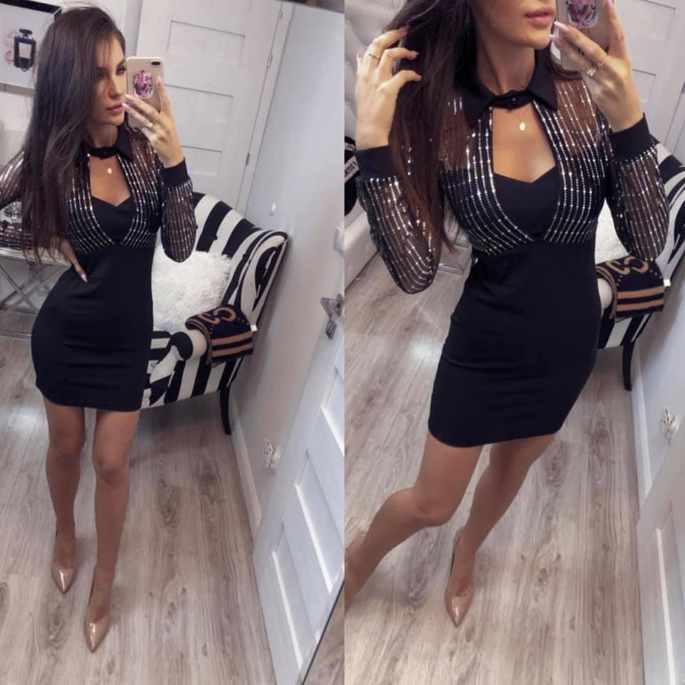 Dámske elegantné šaty (Dámske elegantné šaty)