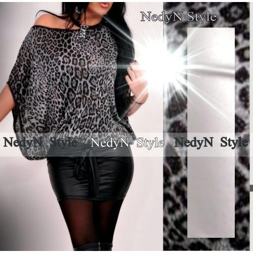 Dámske šaty (Dámske leopardie šaty)