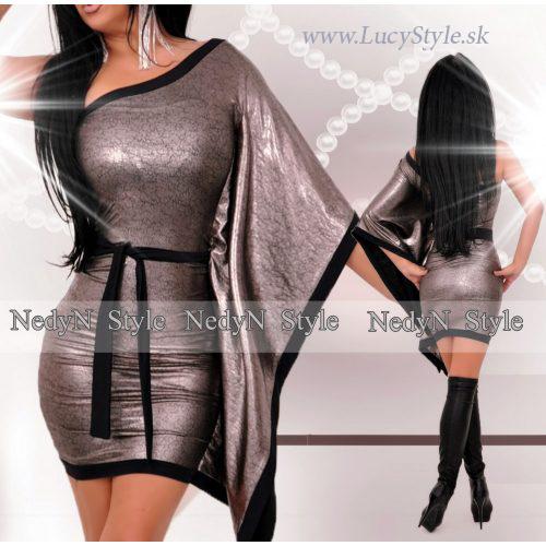 Dámske šaty s jedním rukávom (Dámske šaty s jedním rukávom)