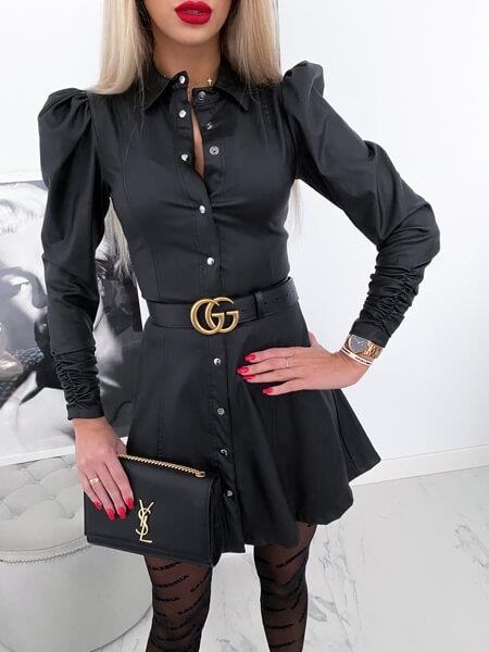 Dámske čierno šedé šaty (Dámske čierno šedé šaty)