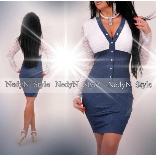 Dámske šaty s čipkovanými rukávmi (Dámske šaty s čipkovanými rukávmi)