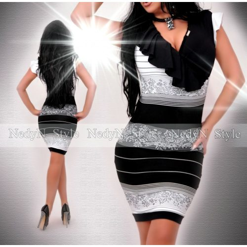 Dámske šaty s volánom (Dámske šaty s volánom)