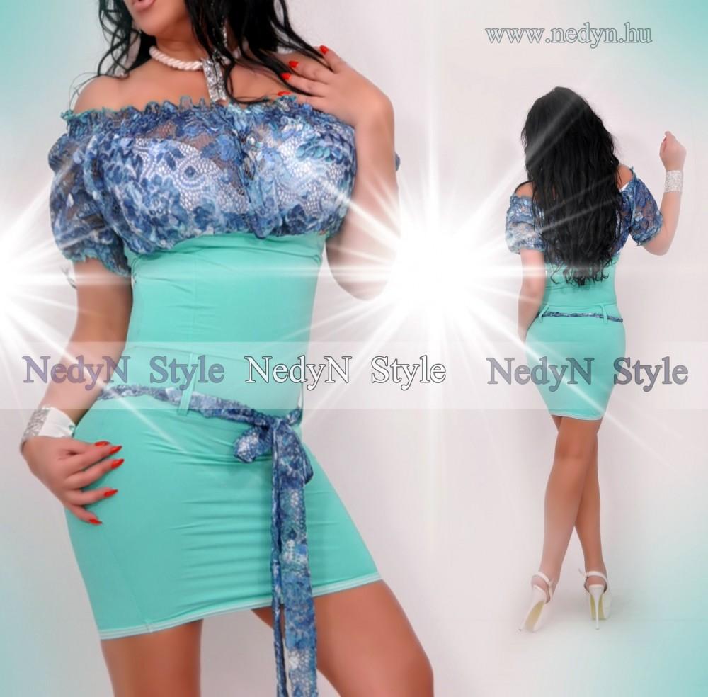 Dámske tyrkysové šaty (Dámske tyrkysové šaty)